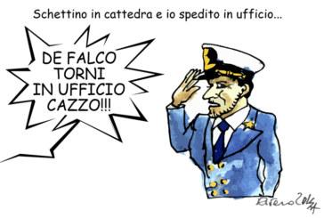 Napolitano, Schettino e il renzismo, l'umorismo graffiante di Tiziano Riverso