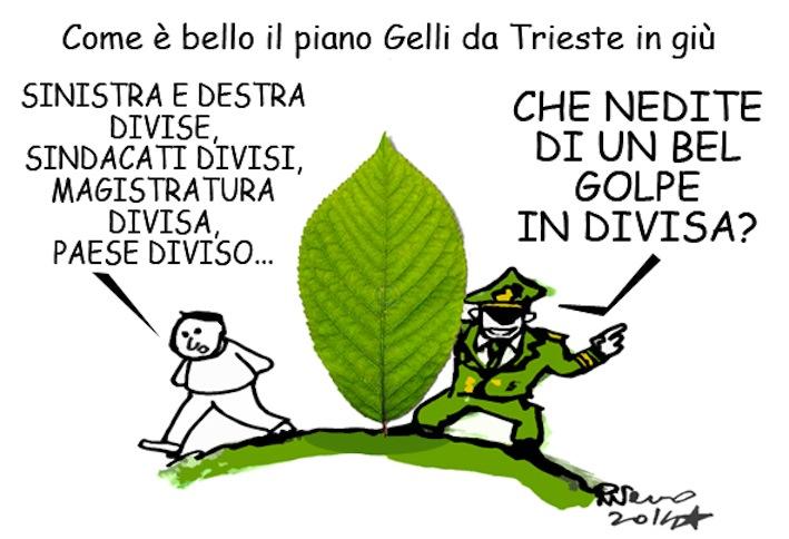 Gelli, Luxuria e il Pd, l'umorismo graffiante di Tiziano Riverso