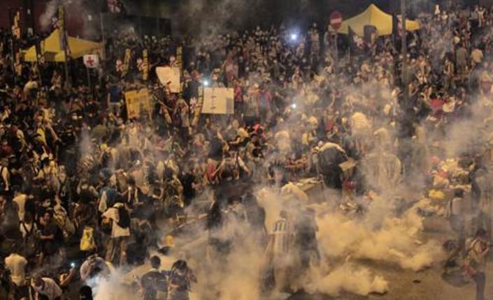 Proteste Hong Kong settembre 2014