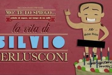 La vita del Cavalier Berlusconi diventa un cartone animato (video)