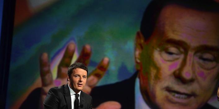 Renzi, Berlusconi e Grillo facce stessa medaglia