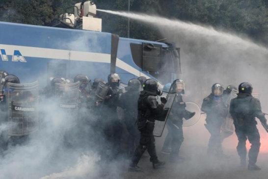 Napoli 2 ottobre 14 Block Bce