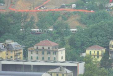 Genova, il Tav fa deragliare un Freccia Bianca