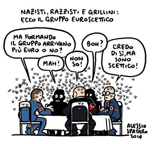 Grillo si fa ridere dietro in Europa [e a Roma]