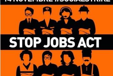 Che sia il 14 novembre lo sciopero generale che non c'è