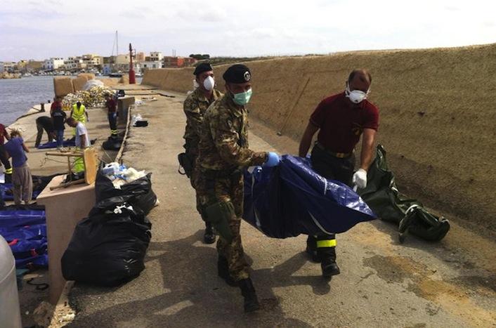 Naufragio a Lampedusa