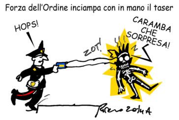 Il Tfr, Del Rio e la mela tentatrice, l'umorismo graffiante di Tiziano Riverso