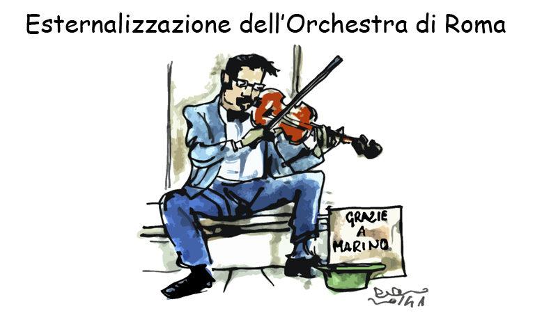 Draghi, il Pd e la marcia su Roma, l'umorismo graffiante di Tiziano Riverso