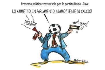 La Juve, la Cgil e il cardinale, l'umorismo graffiante di Tiziano Riverso