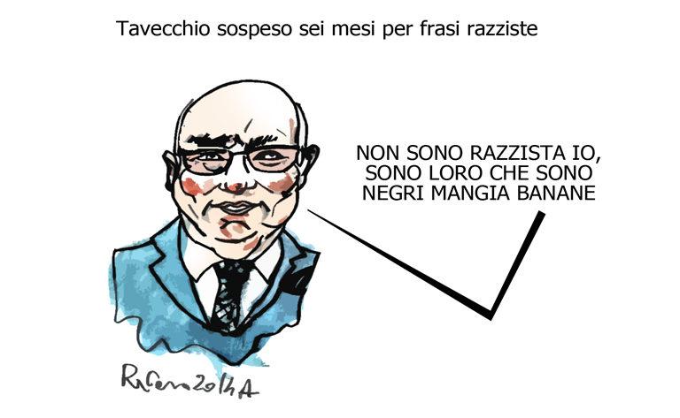 Napolitano, la torta e i mangia banane, l'umorismo graffiante di Tiziano Riverso