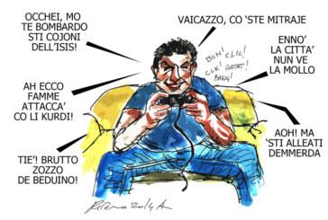 L'alluvione, lo sgorbio e il cabròn, l'umorismo graffiante di Tiziano Riverso