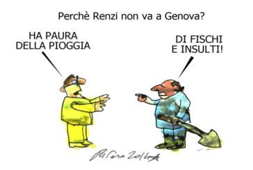 I froci, i negri e Renzi, l'umorismo graffiante di Tiziano Riverso
