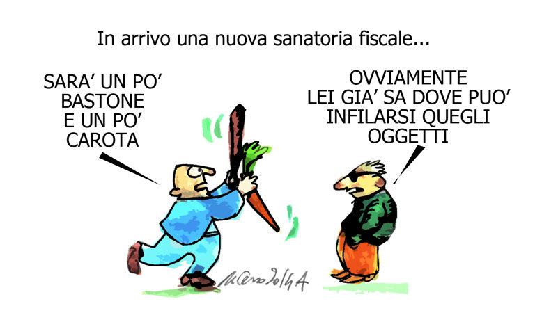 Ebola, la carota e il giudice Tranfa, l'umorismo graffiante di Tiziano Riverso