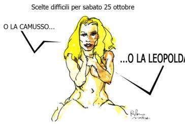 Ebola, la Leopolda e la ruota della fortuna, l'umorismo graffiante di Tiziano Riverso