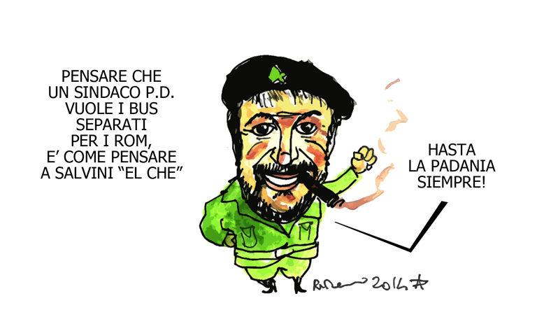 Il Che, Goldrake e la vispa Leopolda, l'umorismo graffiante di Tiziano Riverso