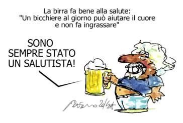 Ebola, la birra e Napolitano, l'umorismo graffiante di Tiziano Riverso