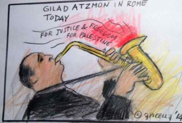 Roma, ecco Atzmoon, errante antisionista