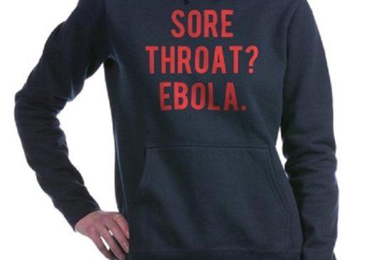 ebola felpa