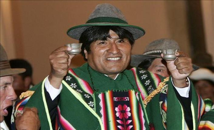 Morales rieletto presidente della Bolivia