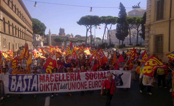 24 ottobre 2014 sciopero generale