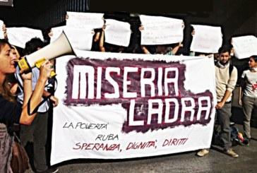 De Marzo: «La povertà sia illegale»