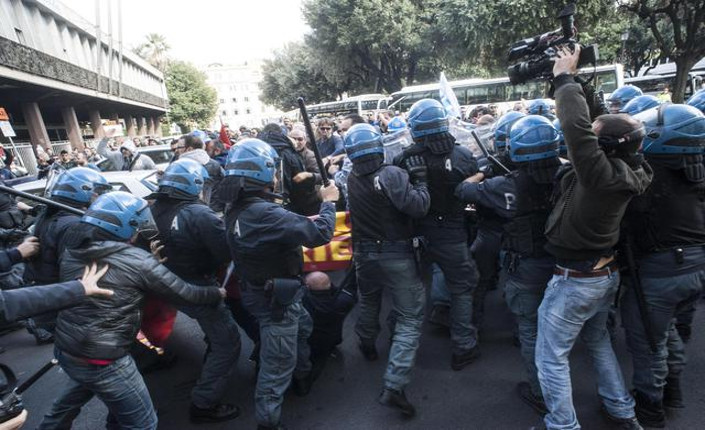 Ast Terni scontri Roma 29 ottobre 2014