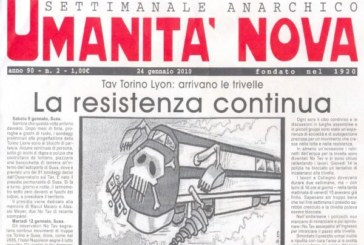 Salva Umanità nova, l'anarchia di carta