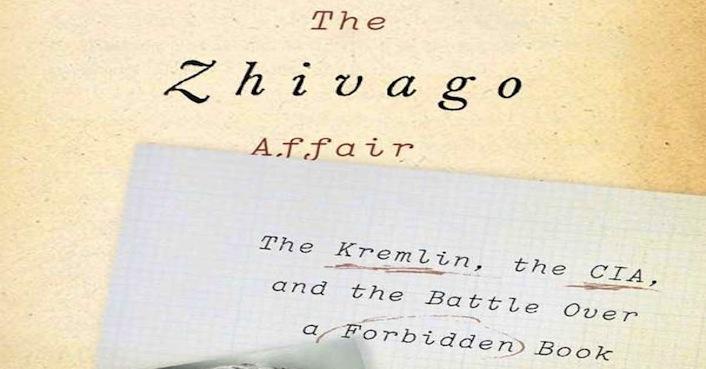 """Il libro inchiesta """"The Zhivago Affair: The Kremlin, the Cia and the Battle Over a Forbidden Book"""" (""""L'Affare Zivago: il Cremlino, la Cia e la battaglia per un libro proibito), scritto dai reporter Usa Peter Finn e Petra Couvee."""