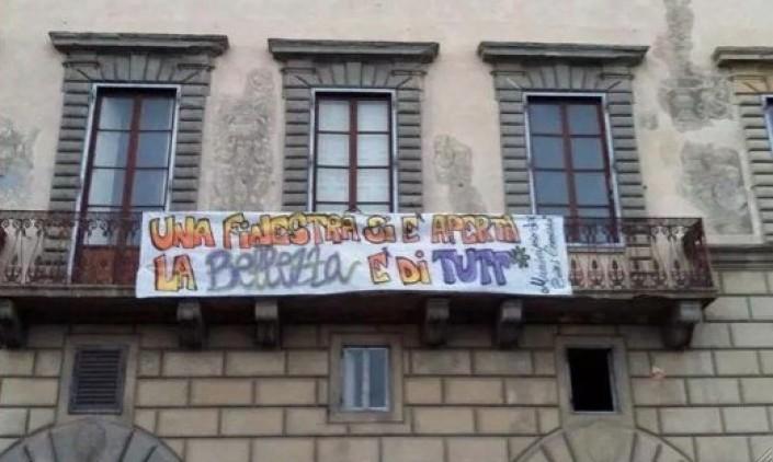 Pisa, il Municipio dei beni comuni occupa e libera Palazzo Boyl