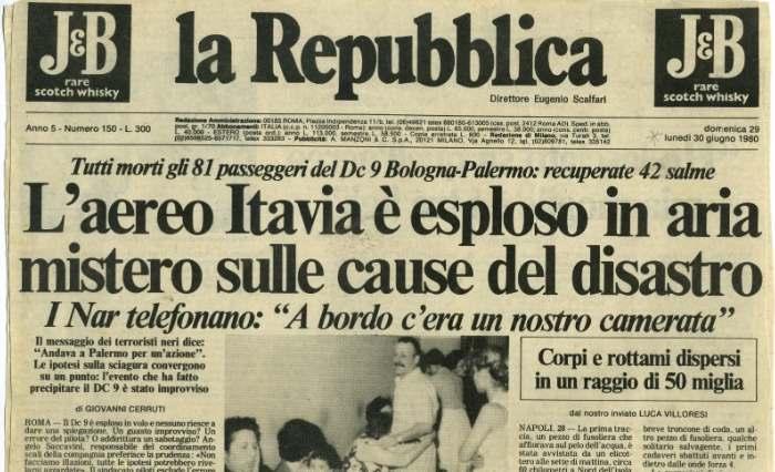 Ustica 34 anni dopo, «Abbattiamo il muro di gomma»