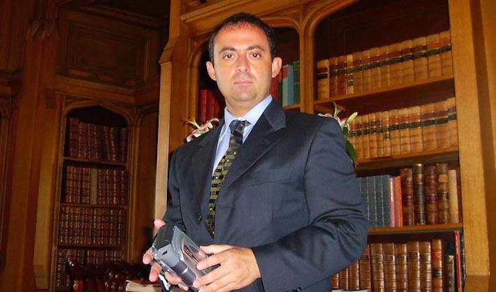 Il leader del Grande oriente democratico, il Gran Maestro Gioele Magaldi.