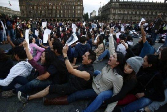 Manifestazione a  Città del Messico 2