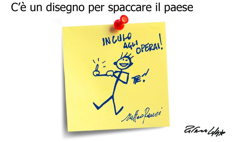 Cucchi, l'oca e Ponzio Pilato, l'umorismo graffiante di Tiziano Riverso