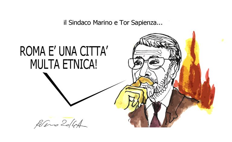 Scajola, il culo e il Jobs Act, l'umorismo graffiante di Tiziano Riverso
