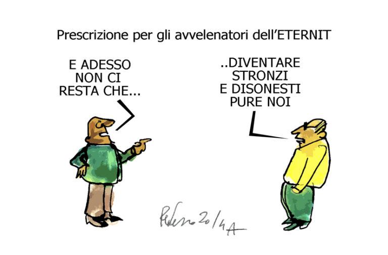 La Moretti, Verdini e gli stronzi, l'umorismo graffiante di Tiziano Riverso
