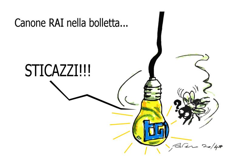 Forza Italia, Calimero e il canone Rai, l'umorismo graffiante di Tiziano Riverso