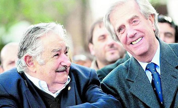 Pepe Mujica e Tabaré Vàsquez