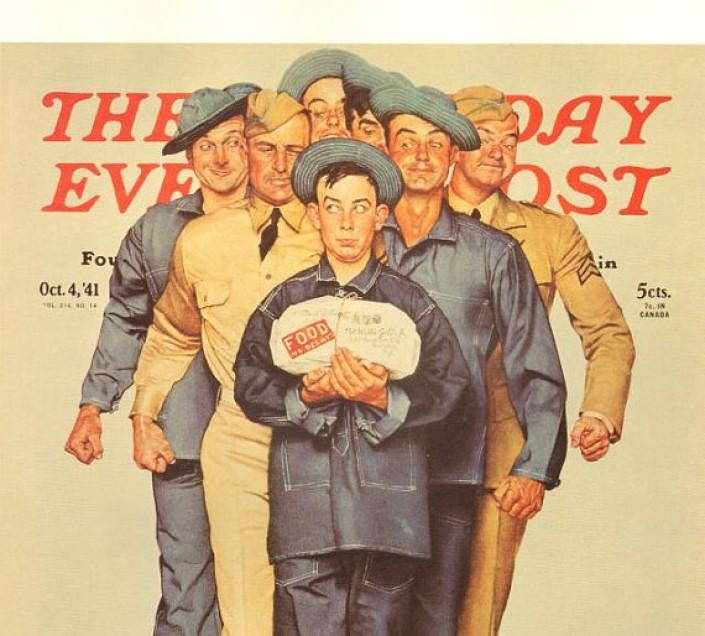 Willie Gillis, Post, 1943