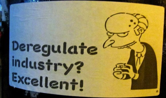 deregulate industry