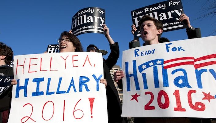 Usa/La Clinton futura candidata di banchieri e guerrafondai
