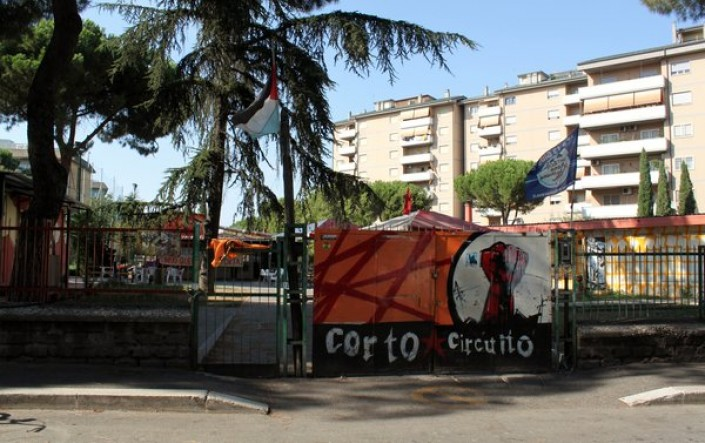 Roma, dentro la guerra ai poveri, l'attacco al Corto Circuito