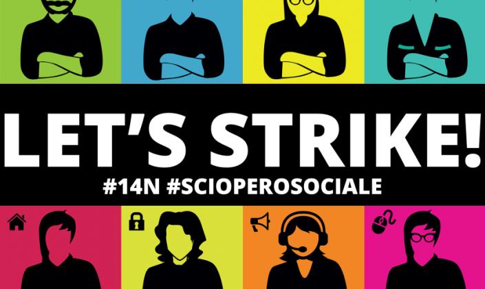 #14N #SCIOPERO SOCIALE IN DIRETTA