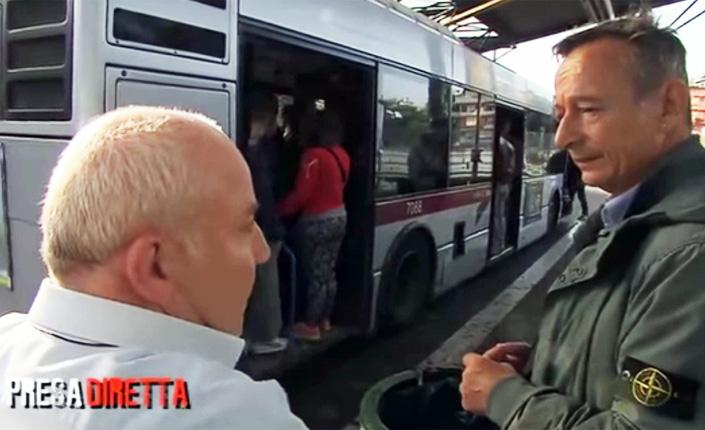 Reintegrati i due autisti sospesi dopo l'intervista a Presa Diretta