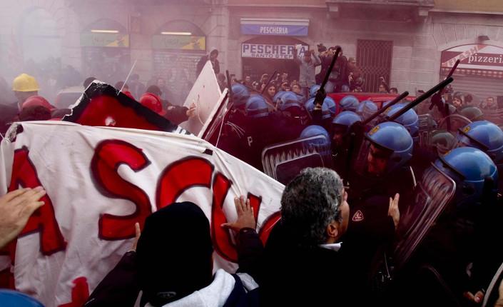 Sciopero sociale a Milano