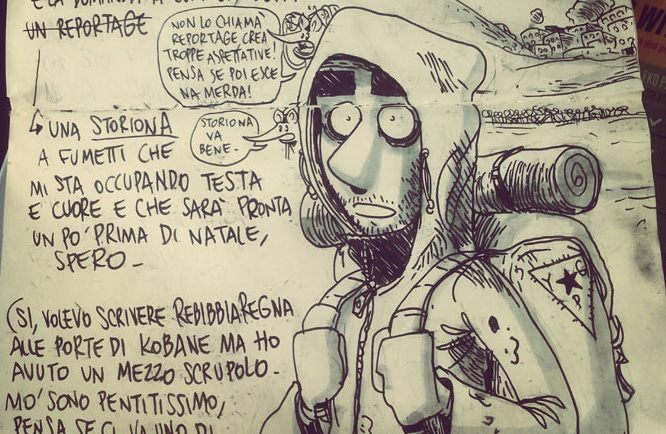 """Zero Calcare: presto una """"storiona"""" sulla resistenza di Kobane"""