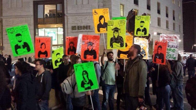 Jobs act, Renzi blinda voto e piazza. Assedio al Senato