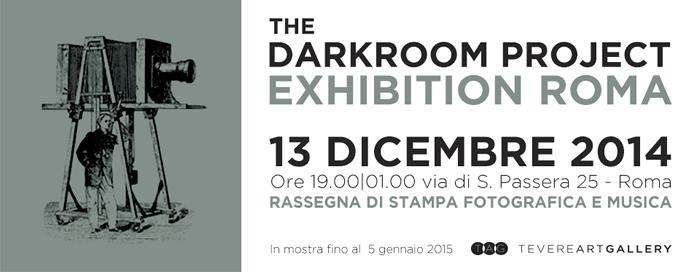 The Darkroom Project, la manifestazione votata alla fotografia in bianco e nero allo sviluppo e alla stampa analogica, sbarca per la prima volta a Roma alla Tevere Art Gallery