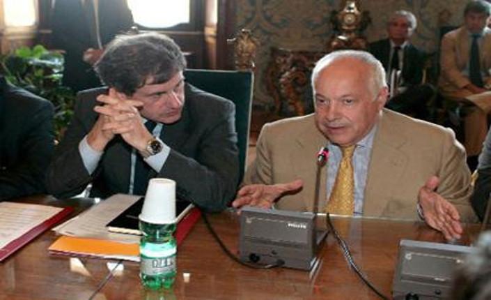 Gianni Alemanno e Franco Panzironi
