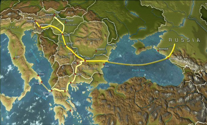 "La Russia si ritira dal ""South Stream"""