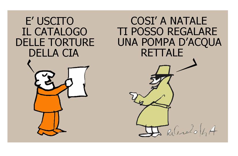 Napolitano, la Cia e la pompa rettale, l'umorismo graffiante di Tiziano Riverso
